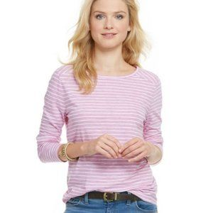Vineyard Vines Stripe Heather Knit Top